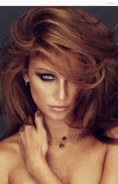 reddish brown hair dye for black hair