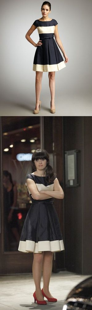 Website that finds sources for the clothes Zooey wears in New Girl
