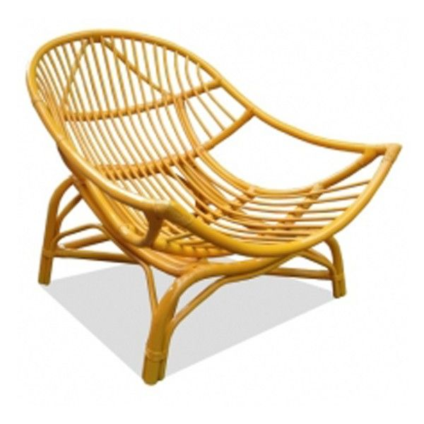 Brighten up your outdoor space with the Pop Havana Cane Chair!