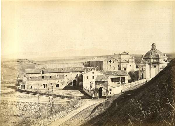 San Paolo alle Tre Fontane. 1872 ca