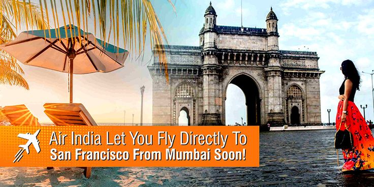 Air India Let You Fly Directly To San Francisco From #Mumbai Soon!  There is some good news for the international flyers traveling to the west coast of the #UnitedStates. The passengers don't need to go to the national capital Delhi first as the Mumbaiitees will soon is able to #flydirectlytoSanFrancisco.