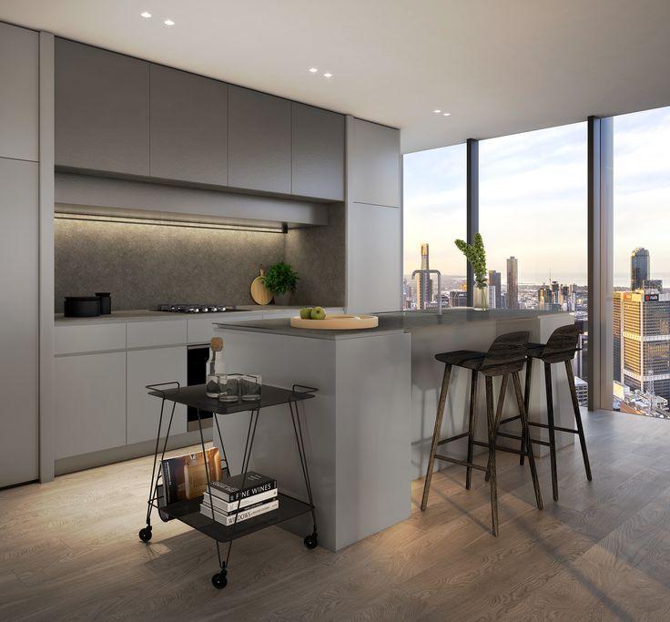 Kitchen: dark scheme
