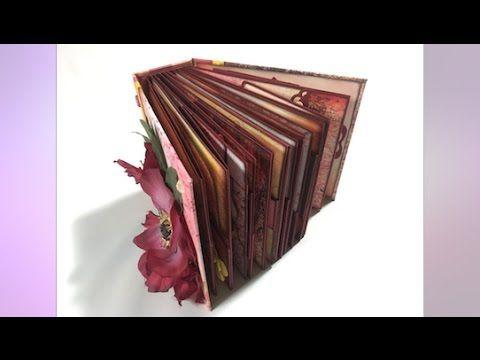 Stacked Page Mini Album, show & tell video | Creator's Image Studio