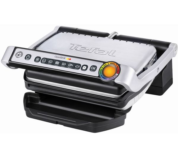 Optigrill GC701D40 Health Grill - Stainless Steel & Black