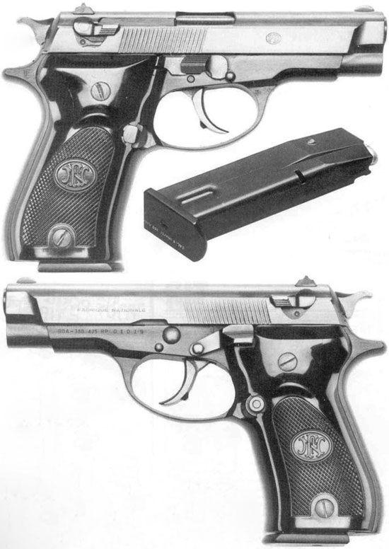 140 fn pistol da / browning bda 380