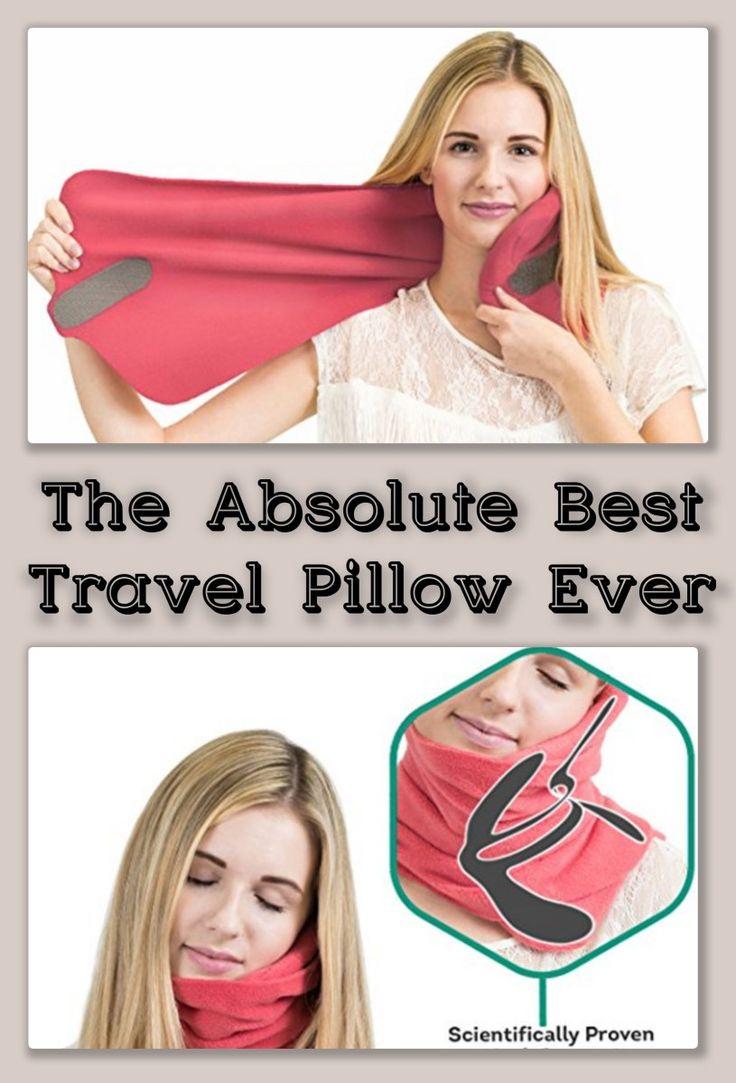 Absolute Best Travel Pillow Ever