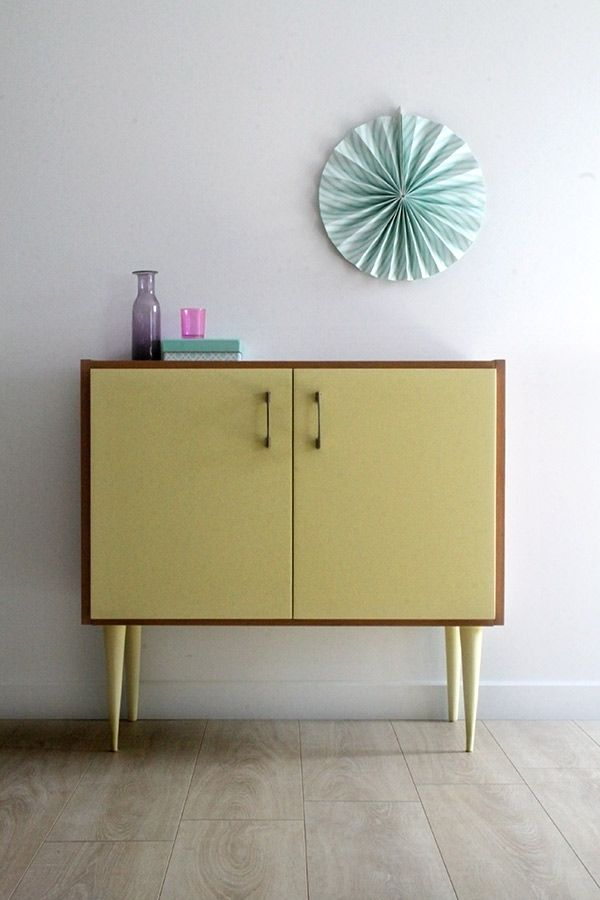 82 best DIY BOIS MEUBLE PEINT images on Pinterest Painted - moderniser un meuble en bois