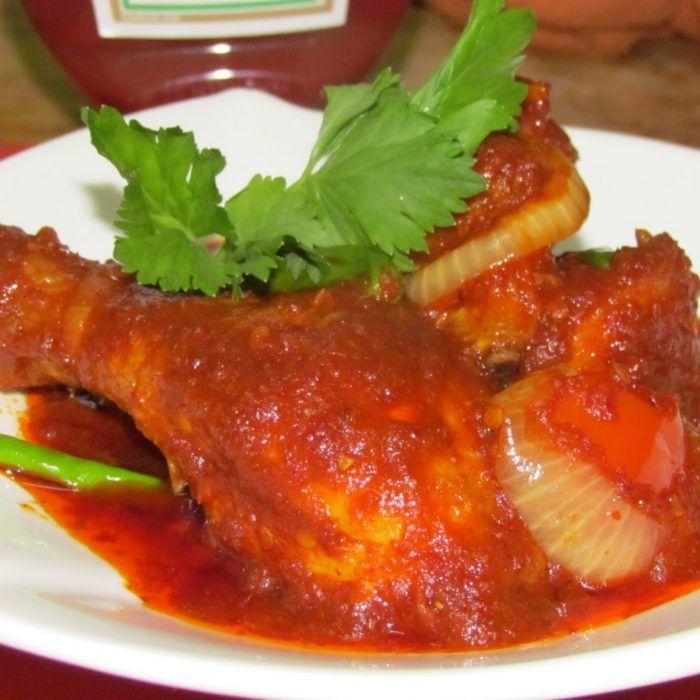 Ayam Masak Merah Sedap Resepi Mudah Dan Ringkas Resep Resep Ayam Resep Resep Makanan