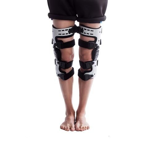 OA Unloader Knee Brace Great brace. I have tried a lot of different braces over the years, this one by far is really good. Price and fit and finish is very good too.