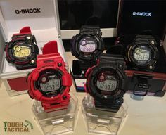 G-Shock Frogman is the only ISO 6425-compliant G-Shock models with a 200 m Divers rating. *image courtesy of Vade_R