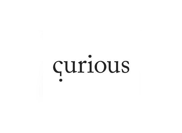 Curious question mark design