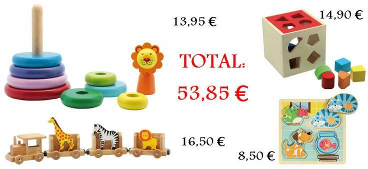 Juguetes para niños de 1 año aprox. Se compran por separado. #bebes #juguetesbebes #Reyes http://www.babycaprichos.com/juguetes-bebe.html