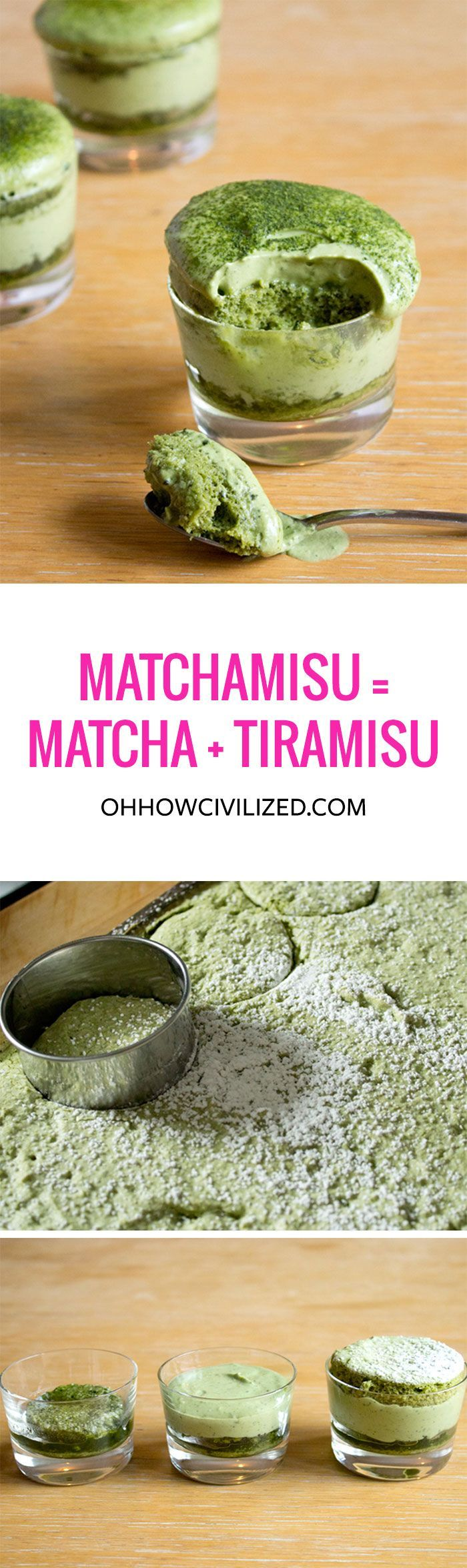 Matchamisu = #Matcha (#Green #Tea) + Tiramisu...I do love tiramisu! Does this mean it's healthy now?! ;)