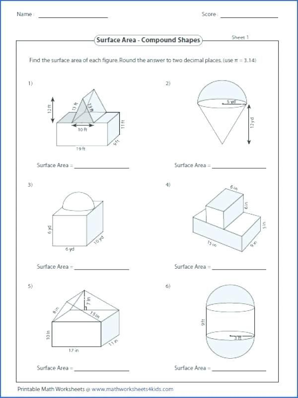 28 area and Perimeter Of Compound Shapes Worksheet Answers