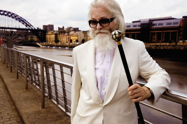 Prefab Sprout's Paddy McAloon, yes sir...
