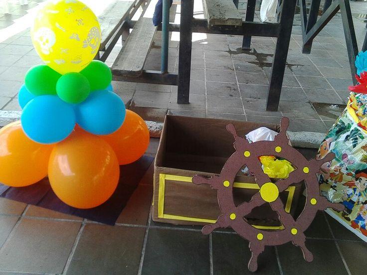 Caja de regalos jake el pirata