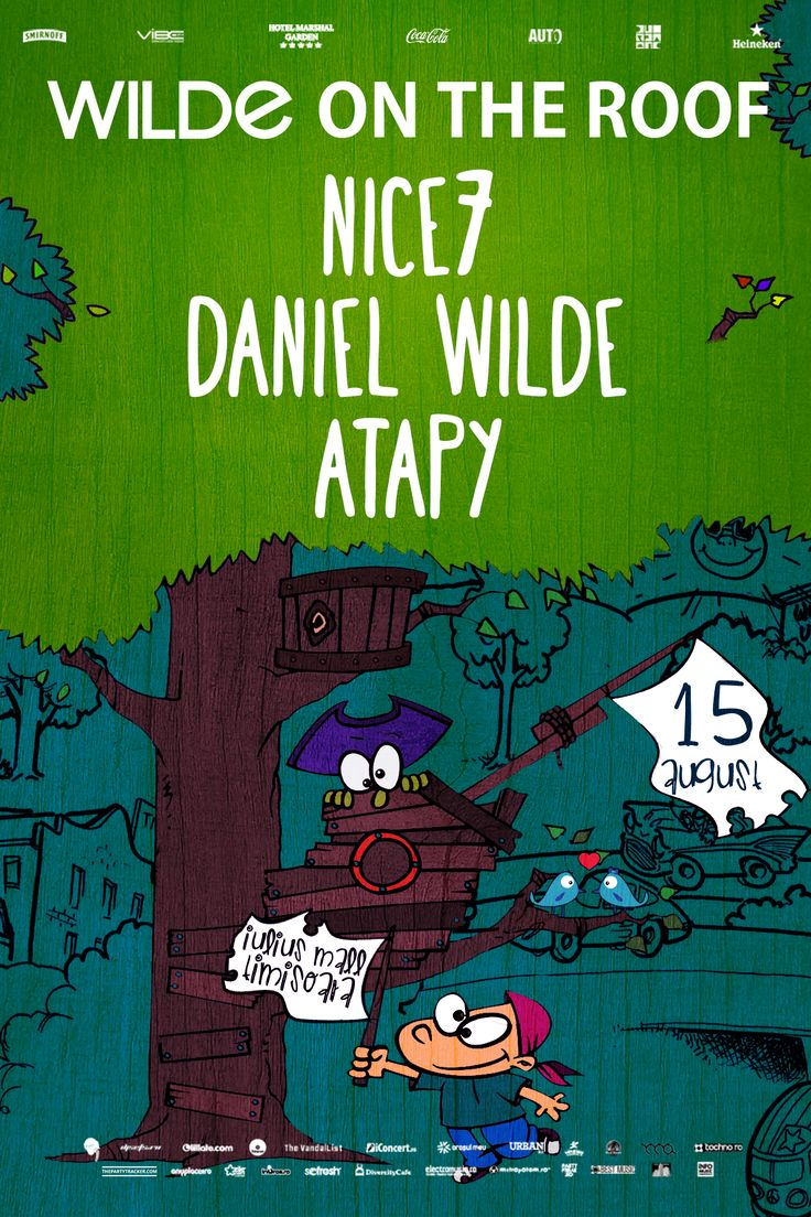Wilde on the roof with Nice7, Daniel Wilde and Atapy