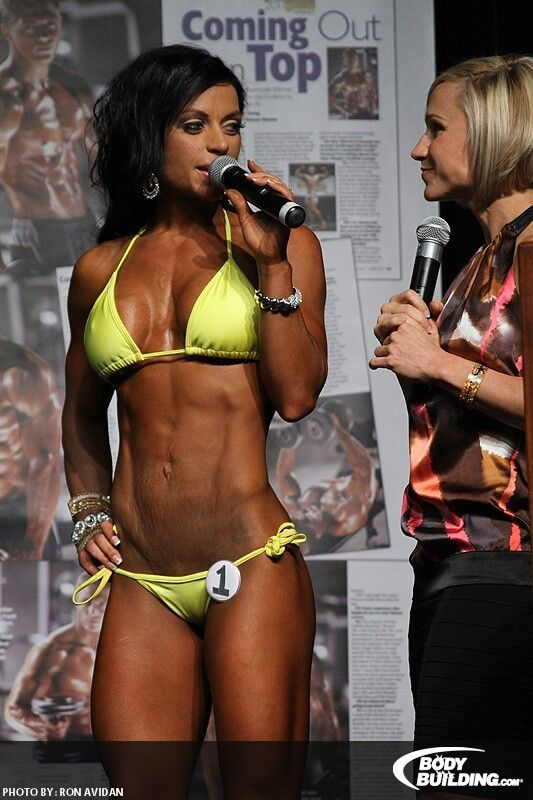 Fit with stretch marks..what an inspiration. Ashley Horner bodybuilding.com