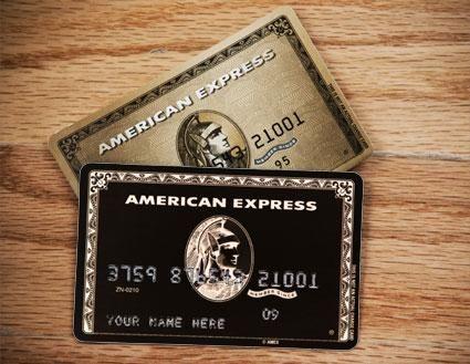 Centurion Card (aka The Black Card) & American Express Gold Card