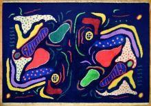 Giardino, 1988, (da bozzetto del 1940) , Gillo Dorfles  - Irma Bianchi Comunicazione