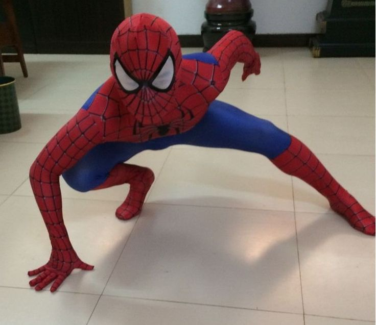 ==> [Free Shipping] Buy Best High Quality 3D Pattern New Super Cool Cosplay Spiderman Halloween Costumes For Kids Children Adults Stage Costumes Online with LOWEST Price | 32583052504