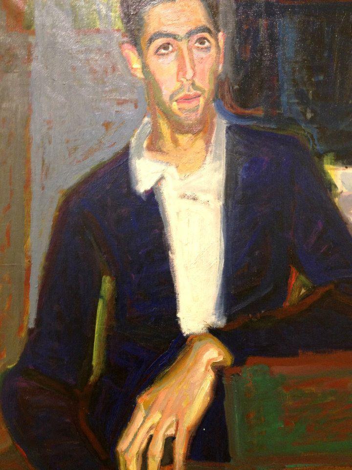 "Panayiotis Tetsis ""Portrait of a man"" — at A. G. Leventis Gallery. Nicosia"