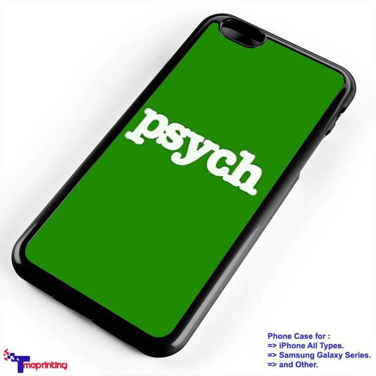 Psych TV Series - Personalized iPhone 7 Case, iPhone 6/6S Plus, 5 5S SE, 7S Plus, Samsung Galaxy S5 S6 S7 S8 Case, and Other