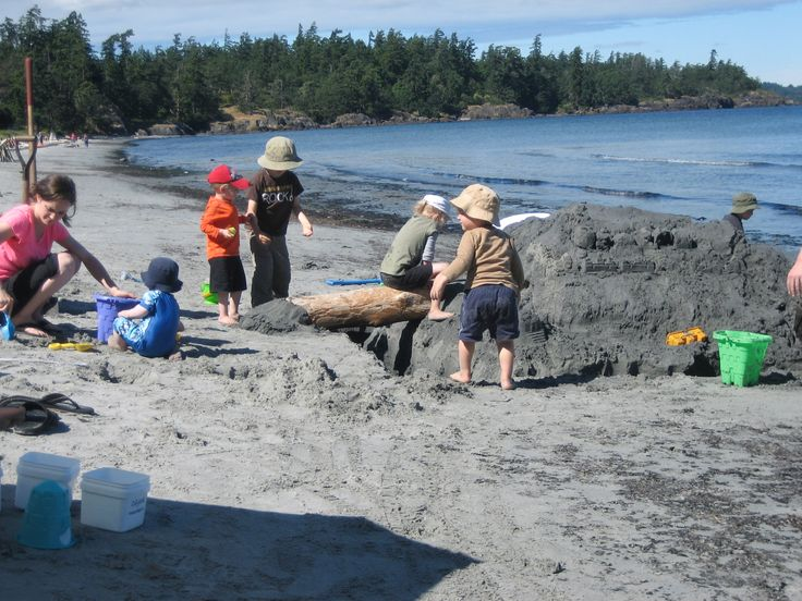 The sand beach at  the Lodge at Weir's Beach is fantastic for family fun!