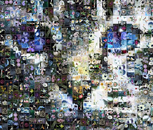 The article about mosaic software, technologies and algorithms for creating spectacular photo mosaics