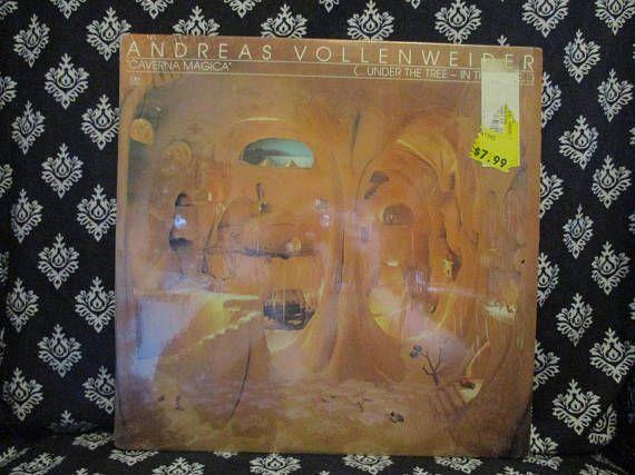 Andreas Vollenweider Caverna Magica Record LP Album