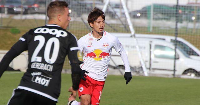南野拓実 Takumi Minamino / ザルツブルグ(オーストリア):  直談判でFW出場、そして2ゴール。<br />南野拓実は全てを自力で掴み取る。