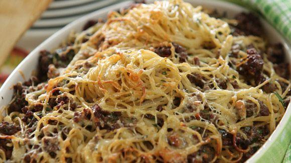 Запеканка из спагетти с мясным фаршем. Обсуждение на LiveInternet - Российский Сервис Онлайн-Дневников