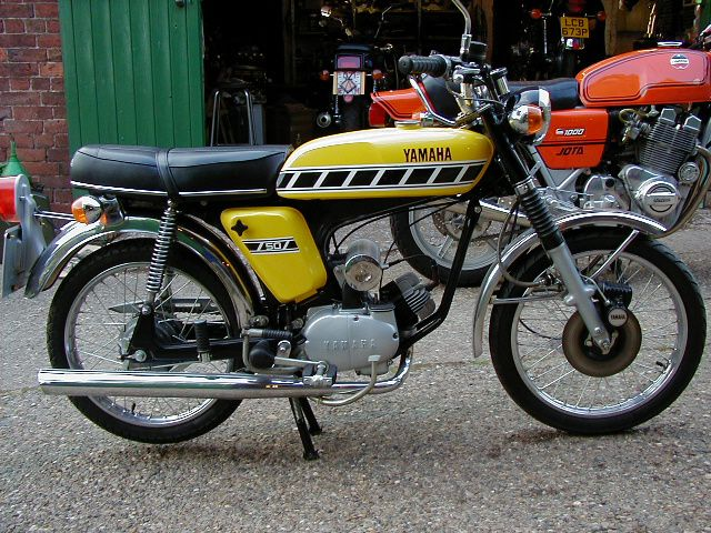 Yamaha FS1E- DX and Laverda Jota. I don't know which i want most! I have owned a fizzy, so maybe a Jota one day somehow!