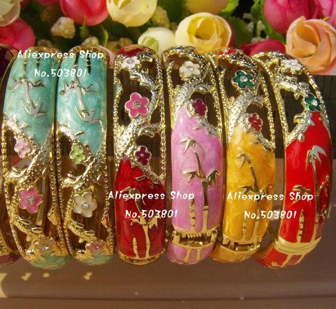 七宝ブレスレット Cloisonne Bracelets