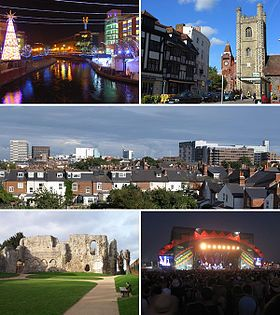 Reading, Berkshire - My birthplace