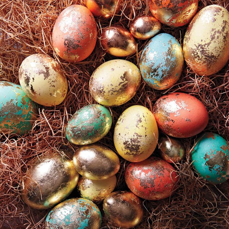 Decorating Easter Eggs, Martha Stewart -- 49 Ways to Decorate Easter Eggs