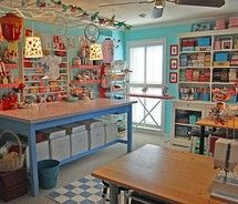 craft/sewing room