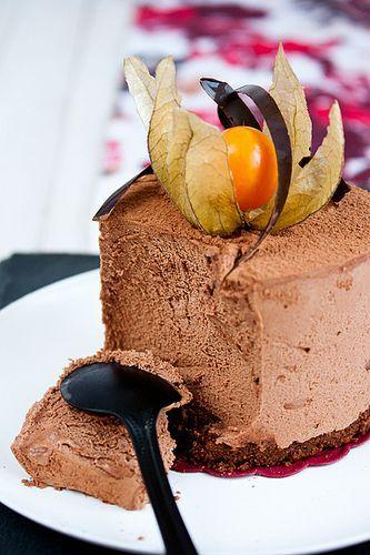 Шоколадный чизкейк - My recipe book