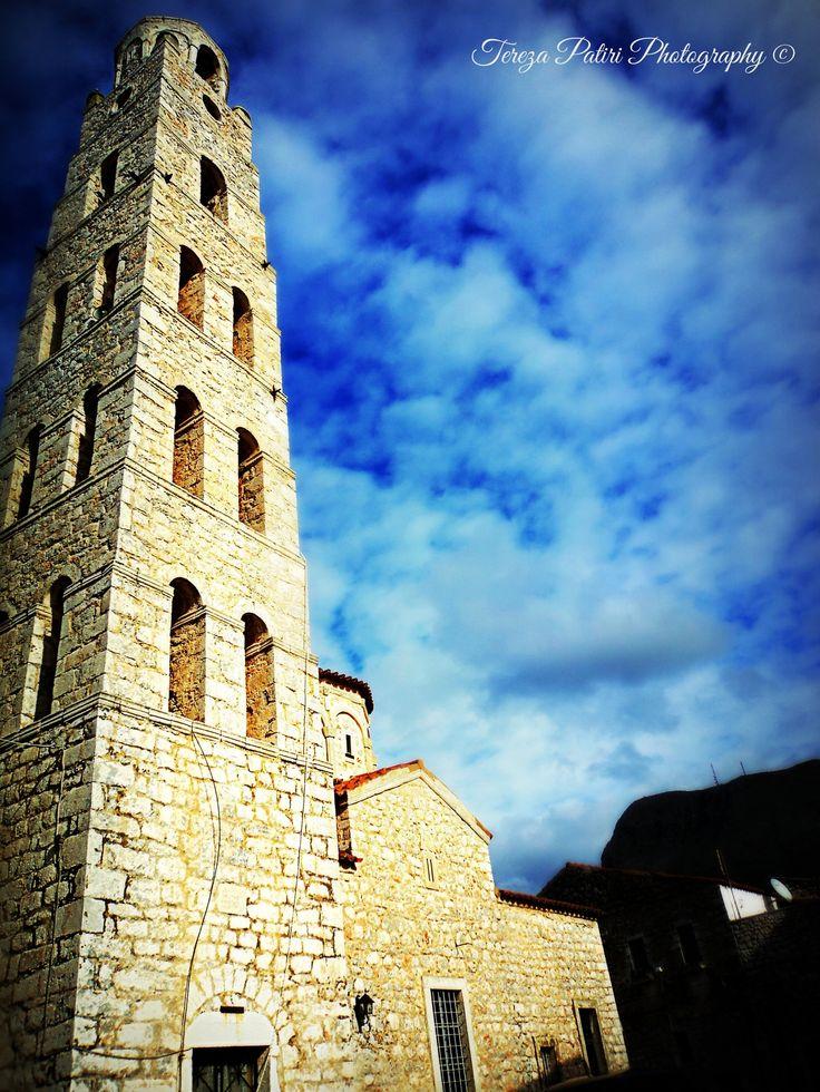 Mani tower, Areopoli, Greece