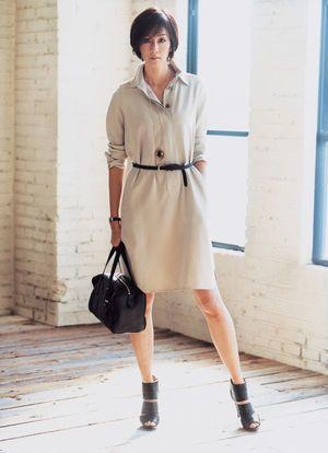 ベーシックな色でおしゃれを楽しむ。上品なタイプのミセス系コーデ。スタイル・ファッションの参考に♪