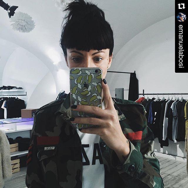 ITALOGY LIFE shirt camouflage man