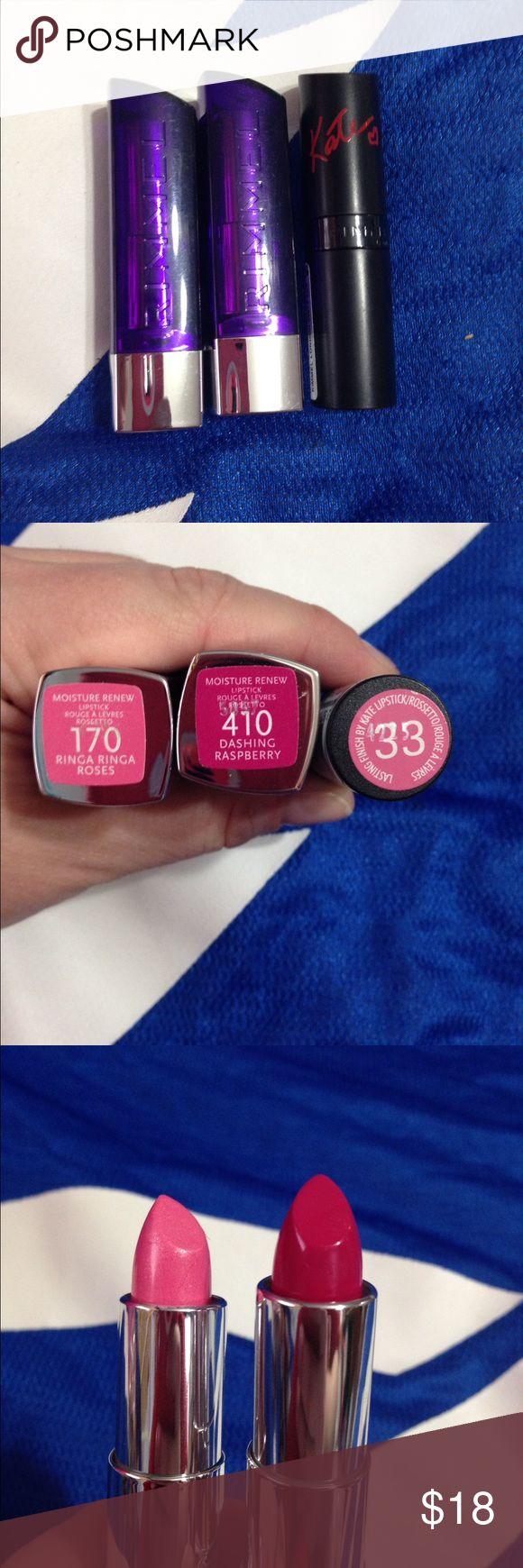 Colour care london lipstick price - Rimmel London Lipstick Bundle Pink Shades