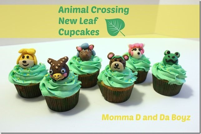 Animal Crossing New Leaf Cupcakes