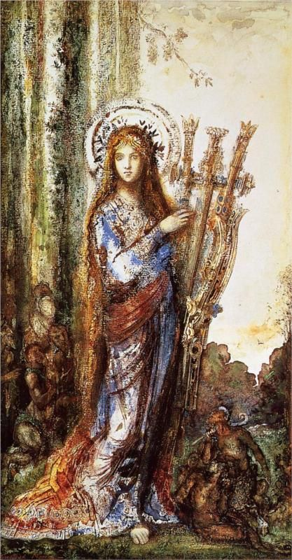 Persephone, goddess of spring growth. Queen of the underworld, Hades's wife and  daughter of Zeus and Demeter.