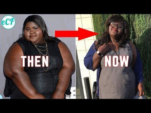 (40) Gabourey Sidibe's weight loss transformation: Then vs. now - YouTube