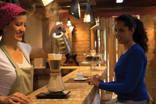 A Cafeteria - coffee shop in Brazil