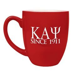 Kappa Alpha Psi Greek Bistro Mug
