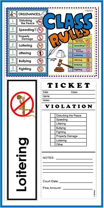 The use of a speeding ticket as a method of discipline