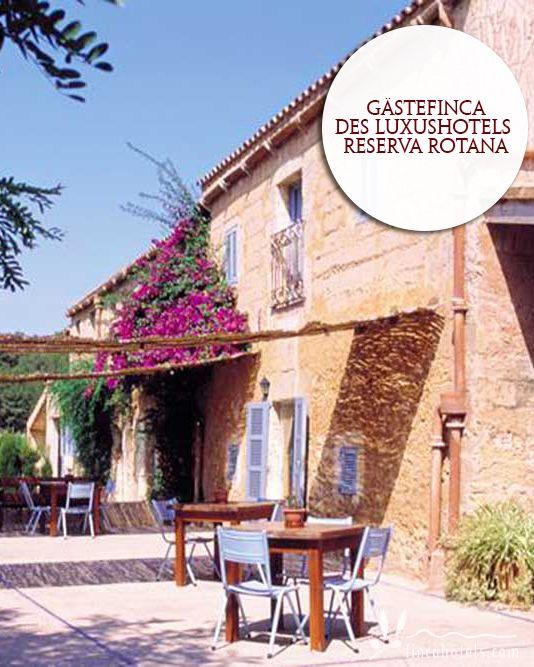 Finca Es Mayolet - Mallorca: Guest finca of the luxury hotel Reserva Rotana. Gästefinca des Luxushotels Reserva Rotana.