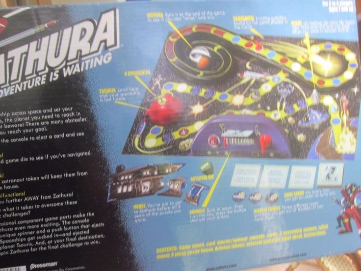 Zathura Space Adventure Waiting 2005 Board Game Complete Boxed Set, Instructions #Fairview